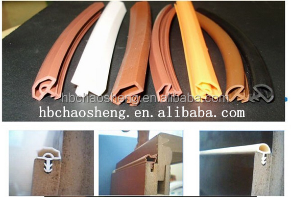 2016 hot sale plastic door frame sealing strip