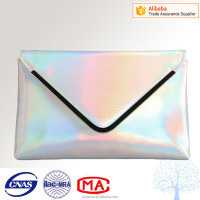 latest fashion glitter color clutch bag,envelope clutch hand bag