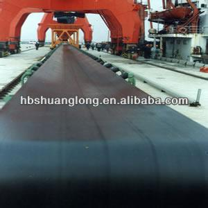 Nylon/polyester EP core rubber conveyor belt