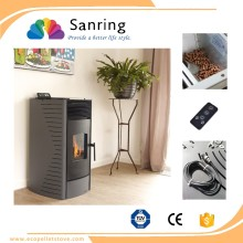 Pellet making machine for wood pellet stove , 12kw pellet burning stove