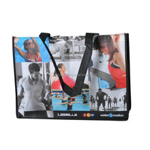 Wholesale cheap eco friendly fitness use reusable laminated pp non woven bag