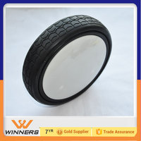 205mm ice cream truck wheel hand trolley tires