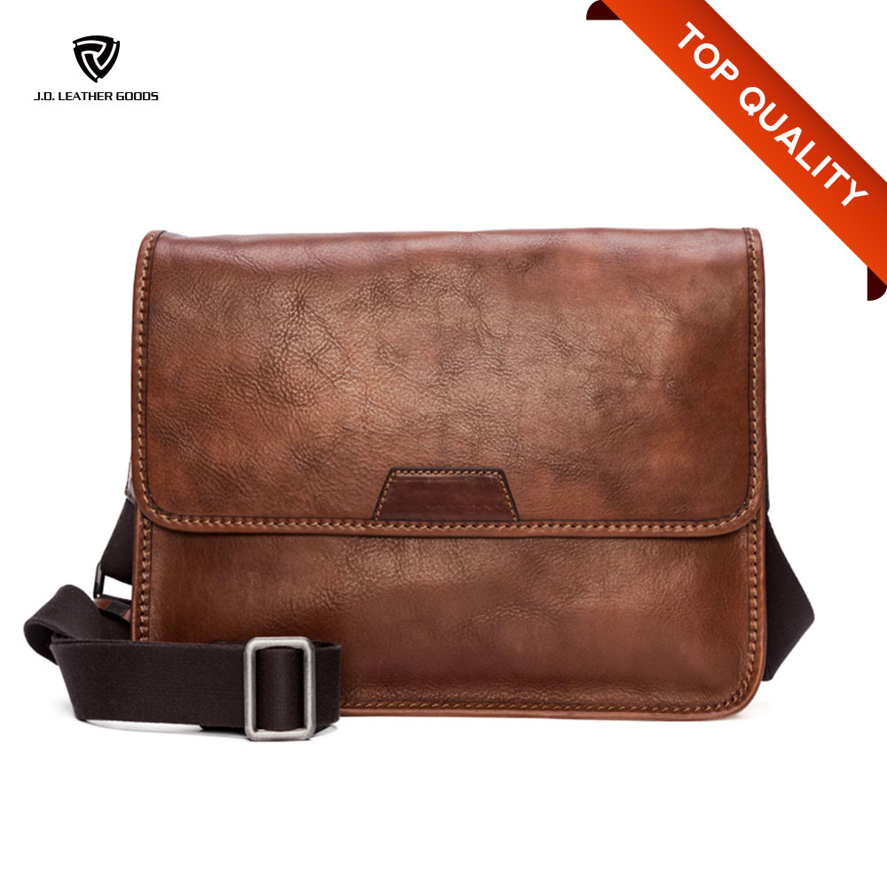 Leather Business Bag For Mens Leather Messenger Bag