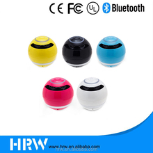 Factory Colorful Round Ball Shape Bluetooth Speaker For Promotion