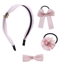 Beautiful Kids Shiny Hair Accessories Headwear Set For Girls