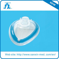 Disposable Surgical Silicone Anesthesia Face Mask