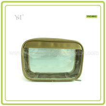 Wholesale Toy Style Promotion Pvc Gold Cosmetic Bag