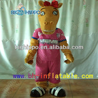 Big Hippo customized adult cartoon character camel mascot costume