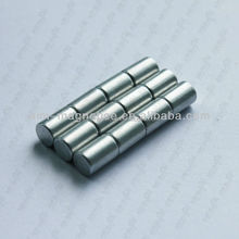 rod cylinder shape sintered neodymium magnets 6mm dia. x 12mm height