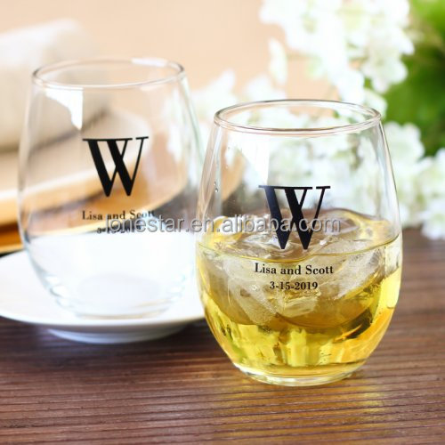 High quality Transparent Red Wine Tumblers Lead free Stemless Wine Glasses Cup Beer Milk Cup Shot Glass For Bar Party