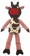 cow rag doll toy
