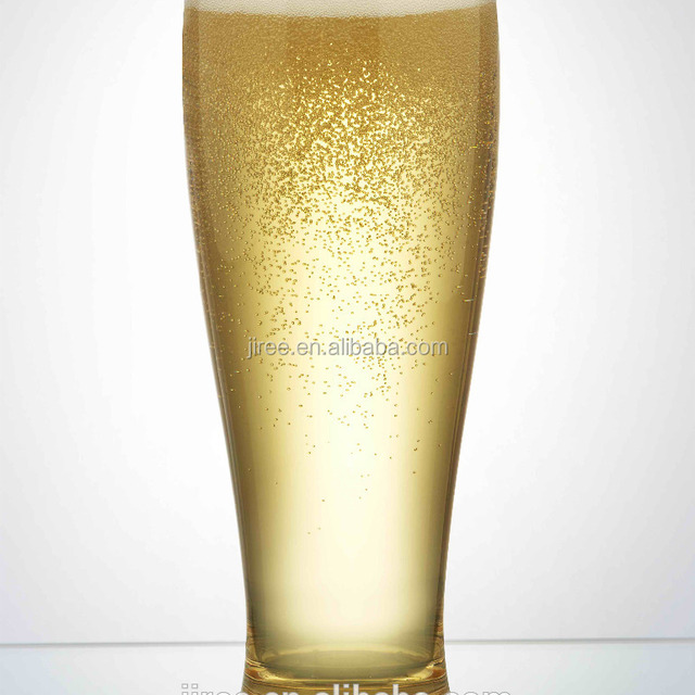 BPA free dishwasher-safe crystal plastic pilsner beer glass