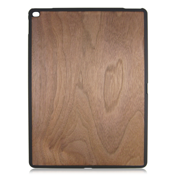 Blank wood case real wooden phone shell PC bottom stick wood back covers for iPad Pro