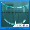Low Iron Bent Glass Ultra Clear Curved Glass