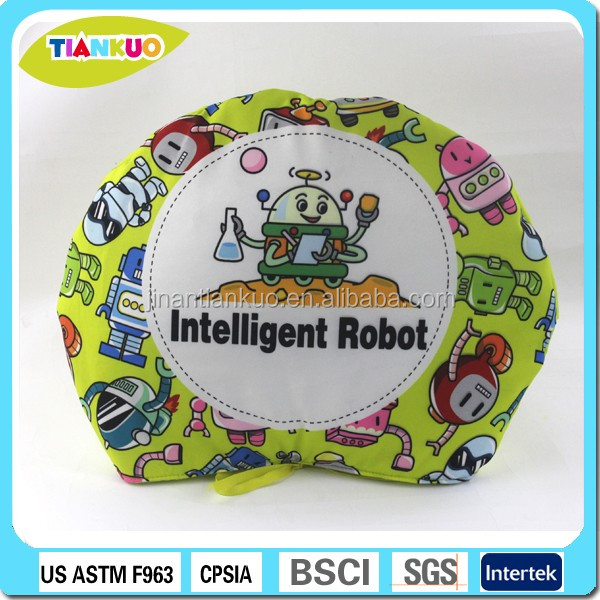 Custom design educational toy soft fabric book baby cloth books