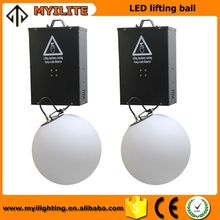 Wedding stage decoration mini led projector Colorful DMX LED kinetic Lifting Ball From China