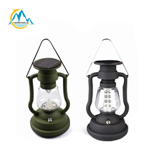 Hand Crank Solar Rechargeable tent lantern 24led light