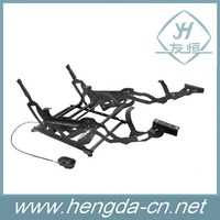 recliner chair mechanism with electric linear actuator
