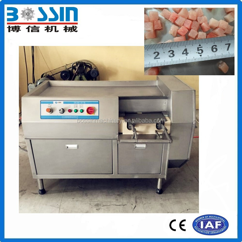 2016 Fresh frozen meat cube cutter dicer machine