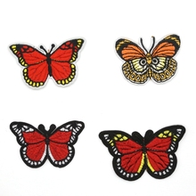embroidery patches butterfly iron on patches clothing accessories patches