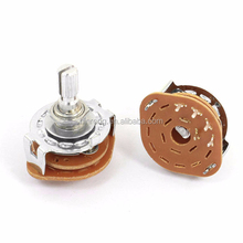 1P4T 1 Pole 4 Position 6mm Shaft Dia Band Selector Rotary Switch