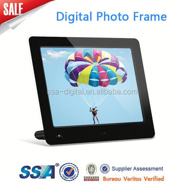 home/hotel 10 inch square digital photo frame,1024*600 pixel with mp3 video play
