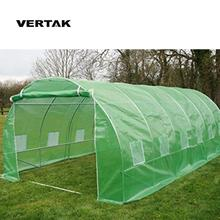 VERTAK Agricultural PE sheet and galvanized steel frame high tunnel greenhouse