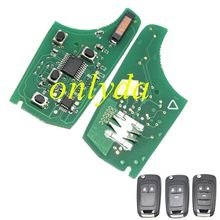 Chevrolet 2 Button remote control 434MHZ with 46 chip remote key 7946 chip used for 2;3;3+1button key kias cerato remote key