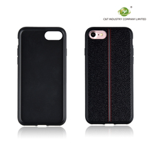 PU Leather Litchi Grain Cases For iphone 7,Ultra Thin Soft TPU Back Phone Cases For iphone 7