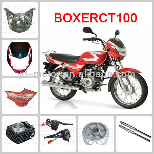 BAJAJ BOXER CT100 motorcycle spare parts
