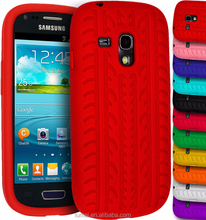 Soft Silicone Tyre Gel Rubber Grip Cover Case For Samsung Galaxy S3 Mini i8190
