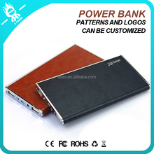 different color woman wallet power bank/ ladies leather wallets mobile power/wallet purses mobile power bank