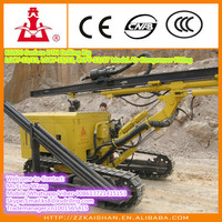 China Steel Crawler Type Air DTH Drilling Rig working for Soil Nailing Project