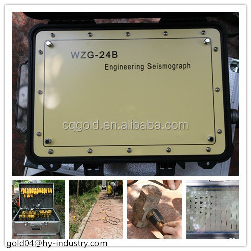 Borehole Seismic Survey WZG-24B Exploration Seismograph for Refraction Reflection Survey