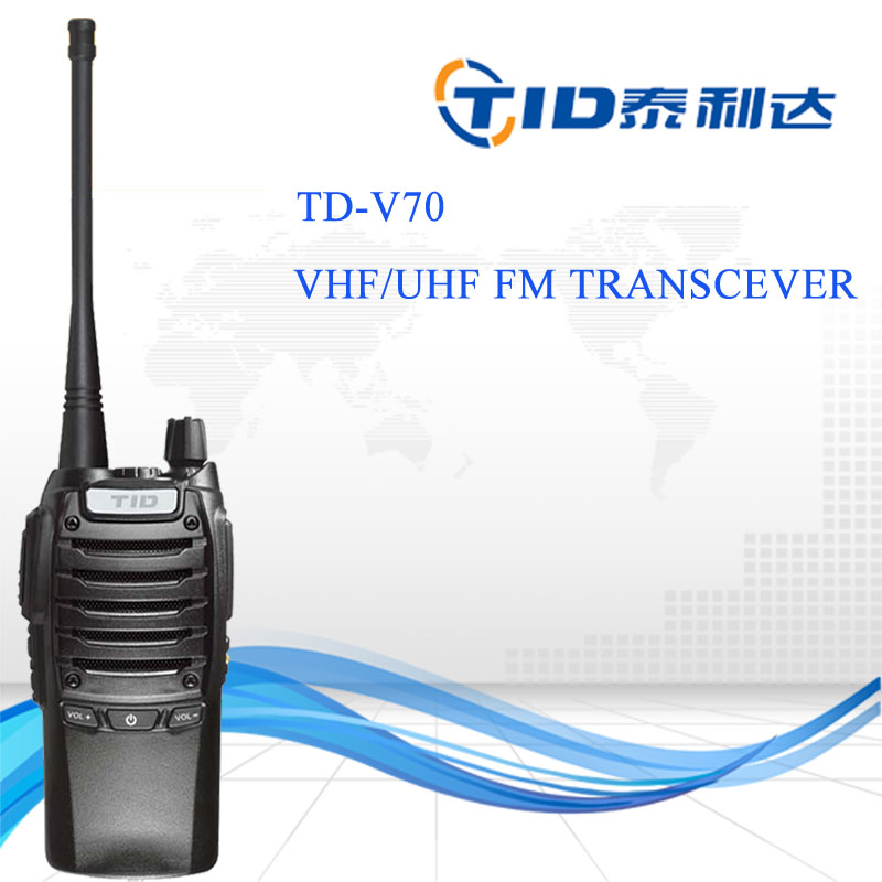 handy uhf two way radio wireless tour guide system