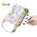 Encai Lady's Secret Storage Zipper Pouch Cute Pattern Cosmetic Organizer Small Bag