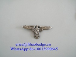 Coustom Metal Pilot Wings Pin Badge/Military Badge Pin
