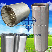 Hot Sales Stainless Steel filtering and sifting sand control screen tube