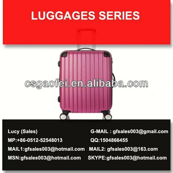 best and hot sell luggage leisure luggage company for luggage using