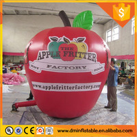 customize inflatable apple for advertising C-334