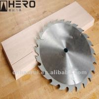 Circular saw blade with surface flatness for cutting wood things