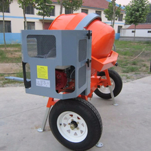 rolled steel section concrete mixer