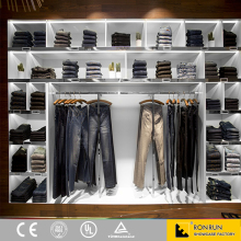 Modern shop furniture garment display rack for retail garment shop interior design