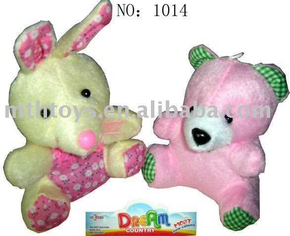 baby plush toys with dice key chain toy
