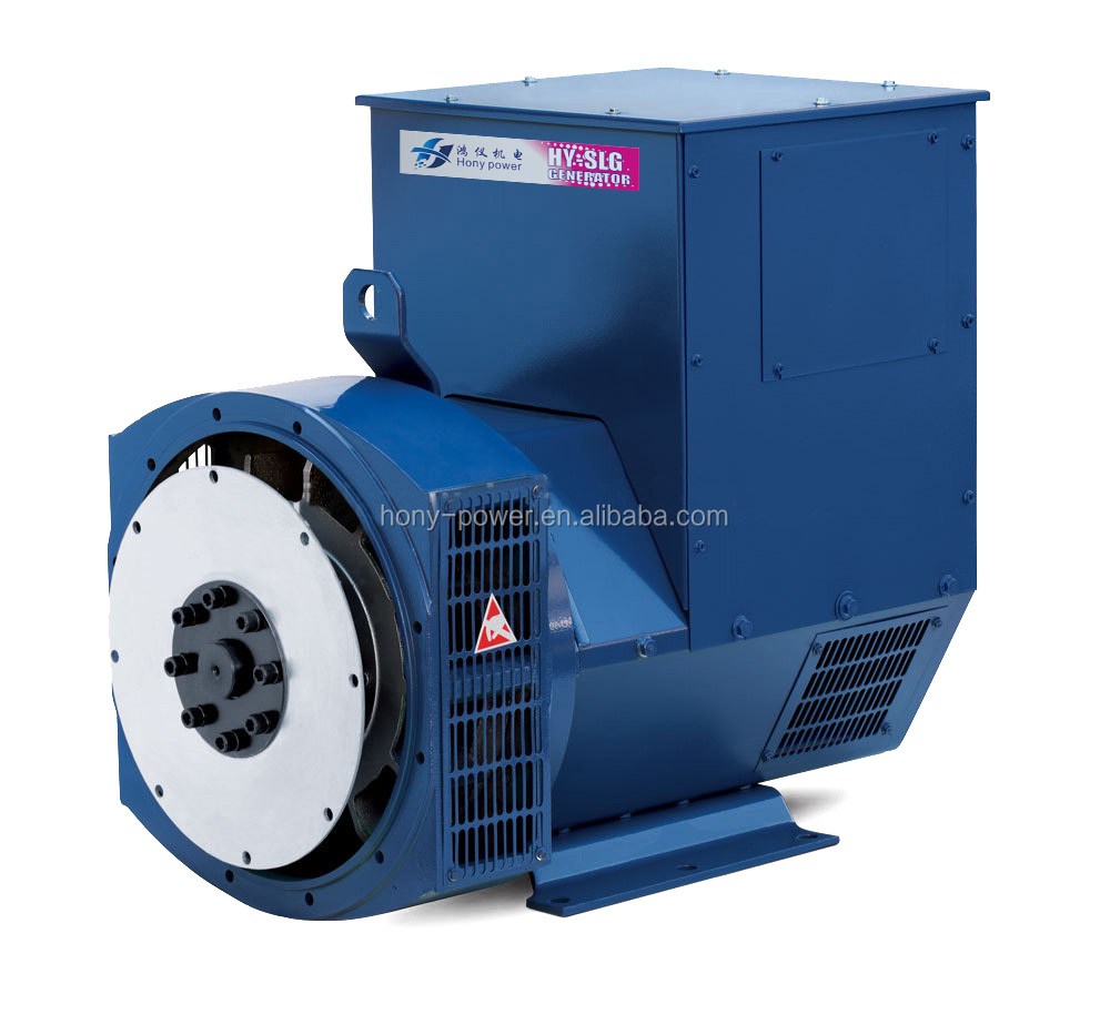 Low Rpm Electric Ac Brushless Alternator 220V 5KW