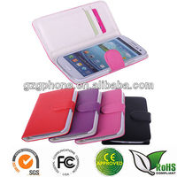 Leather cover for Samsung galaxy S3