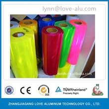Colored Gold Embossed Aluminum Foil Paper Rolls For Cigarette Packaging
