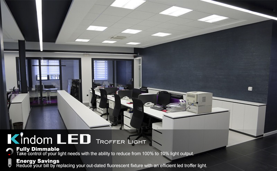 UL ETL DLC Premium listed  2x2 2x4 led troffer direct led panel retrofit linear light fixture