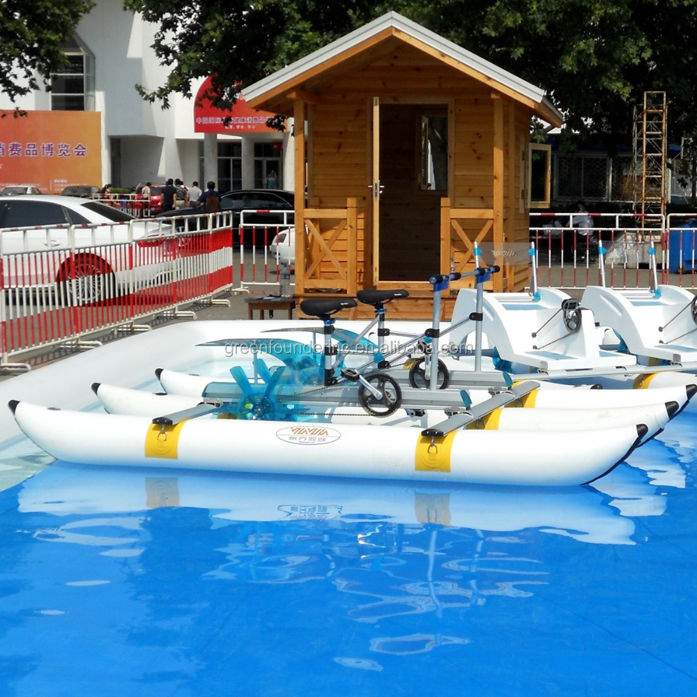 water cycle pedal car Water Bikes Water Bicycle Amusement Pedal Boat for sale