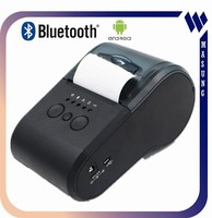 Windows/android/Linux supported handheld mobile mini 58mm thermal printer